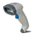 Ручной сканер штрих-кодов Datalogic  QuickScan QD2130 - серый KBW с подставкой (QD2130-WHK3S)